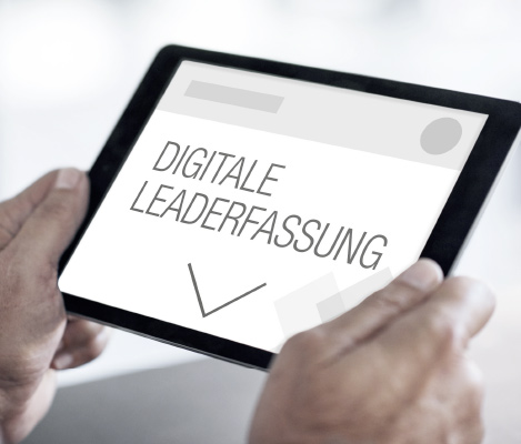 digitale leaderfassung